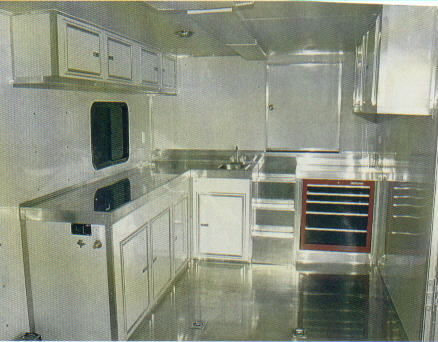cabinet photos for an enclosed trailer living quarter